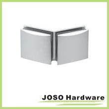 Vidro para vidro Abraçadeira de porta de chuveiro em latão de 135 graus (BH402-135)