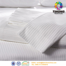 250TC Hotel Cotton Bed Sheets Fabric