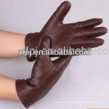 Gants à main en cuir