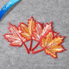 Parche de bordado de diseño de logotipo personalizado con alta calidad