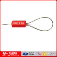 Selo descartável do cabo da segurança do recipiente