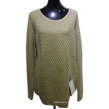 Suéter de mujer 100% cachemira suelta de alta calidad