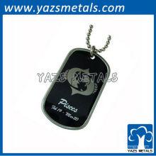 personalize Tag de cão do exército do horóscopo, etiqueta de cão de Pisces