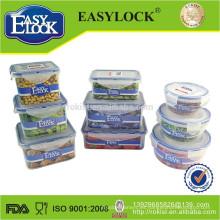 Caja de almacenamiento plástica dura barata libre de BPA 2000ml