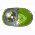 Esfregona Giratória de Aço Inoxidável 360 com rodas, o balde de giro projetado estilo de economia de energia