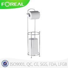 Home Basics Support de rouleau de papier toilette avec support