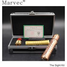 Material de cobre e cigarro vs resina gotejamento