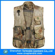Wholesale 100%Cotton Canvas Multi Pocket Tactical Vest