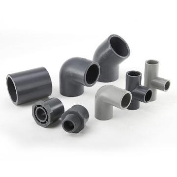 Kunststoff-PVC-Rohrverschraubung für Wasserversorgung und Abfall