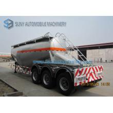 Tri-Axle Dry Bulk Tanker Trailer 35000 L Carbon Steel Bulk Cement Tank Semi Trailer
