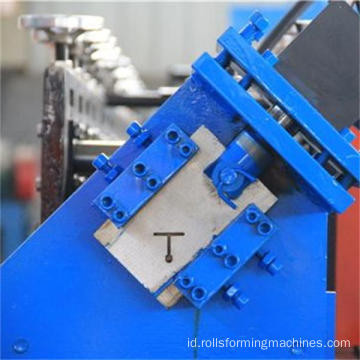 Langit-langit logam Palang T Bar Roll Forming Machinery