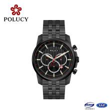 Clássica Chronograph Mens Watch relógio personalizado