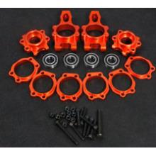 Orange CNC aluminum Rear hub kit