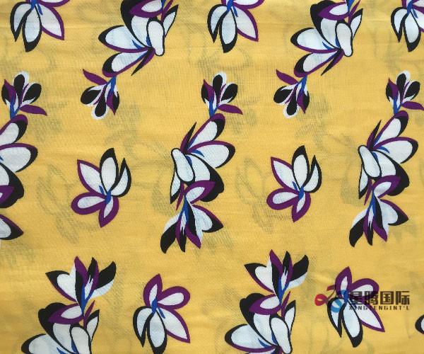 100 Rayon Printing Fabric