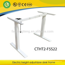 Piernas ajustables del metal del marco del escritorio de la altura ergonómica moderna para los muebles de oficinas