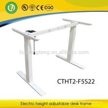 Pés ajustáveis do metal do quadro da mesa da altura ergonómica moderna para a mobília de escritório
