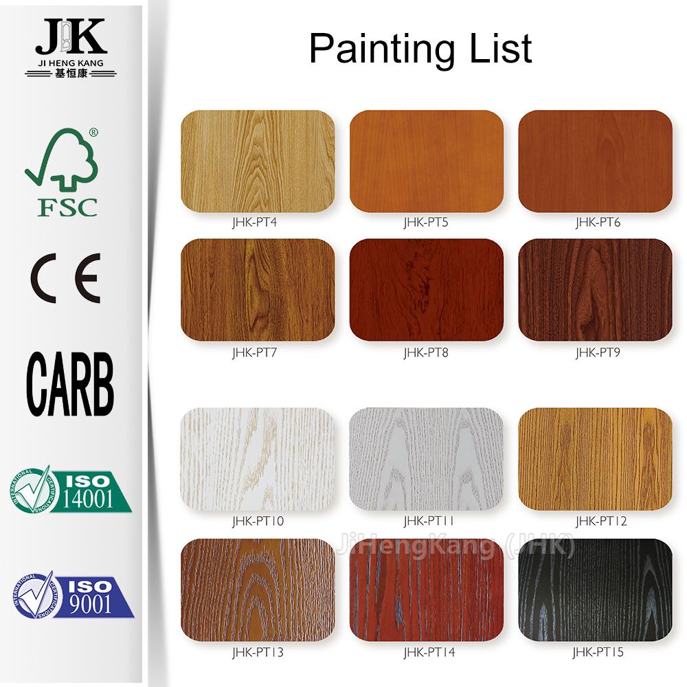 JHK-Natural Ash Laminate Interior Wood Door Design