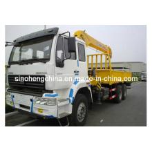 XCMG grúa montada camión hidráulico de 10 toneladas con el auge telescópico Sq10sk3q