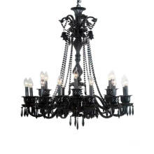 Hotel Project Black Pendant Lamp (WD06075-12+6)