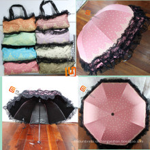 4 fach Min Förderung Folding Umbrella (YS-4F1002A)