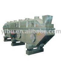 Secador Rectilíneo Vibratório-Fluidizado usado no ácido sitrico