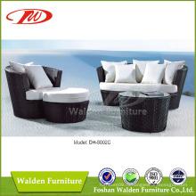 Наружный диван из ротанговой мебели (DH-8002C)