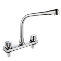 Doulbe Handle ABS Plastic Kitchen Faucet