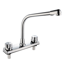 8 Inch Plastic Basin Faucet with Two Handles (JY-1022)