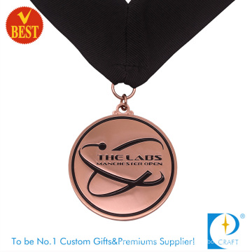China Wholesale High Quality Soft Enamel City Souvenir Medal in Copper Stamping