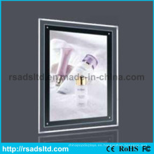 Publicidad comercial LED Crystal Light Box