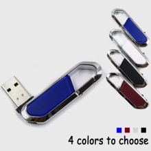 금속 키 링 방수 USB 메모리 펜 드라이브