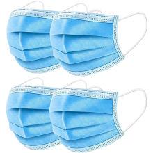 50 Pcs Fast Delivery Medical Mask 3 Layers Meltblown cloth prevent Medical Face masks