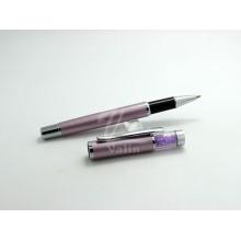 Véritable motif en cristal de stylo en cristal pourpre
