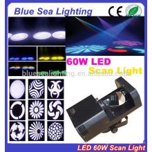 2015 hotsale 60w weißes licht 3d scanner führte scanner licht