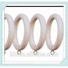 50mm Ahorn Holz Vorhang Ring