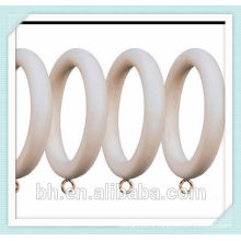 50mm maple wooden curtain ring