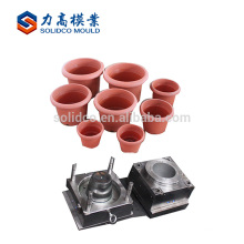 Plástico de la maceta de alta calidad para el molde del producto del jardín de China