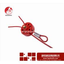 Wenzhou BAODSAFE BDS-L8631 Einstellbare Radkabel Verriegelung Ausgleich Tagout 2.4m
