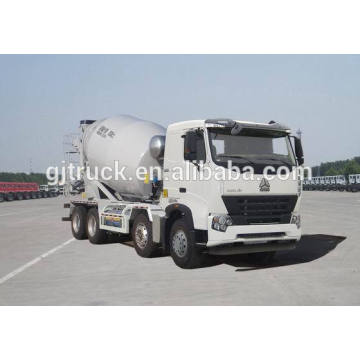 Sinotruk HOWO 8*4 drive concrete mixer for 10-14 cubic meter