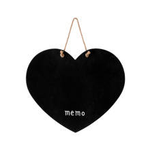 Heart design blackboard