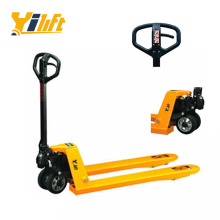 Ergonomic handle type Hand Pallet Truck made in Cambodia and No Anti-dumping tax