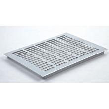 Ventilación en perfil de aluminio
