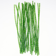 Green Glitter Pipe Cleaners klatergoud kerstversiering