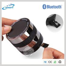 2016 mejor OEM baratos Metal y Silicona Bluetooth altavoz con reproductor de música