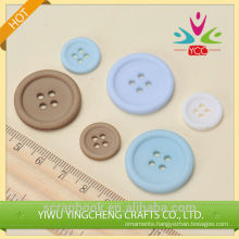 Colorful glossy plastic button for upholstry