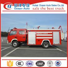 Dongfeng 5000liter Wassertank Standard Löschfahrzeug Abmessungen