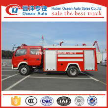 Dongfeng 5000liter el tanque de agua dimensiones estándar del carro de bomberos