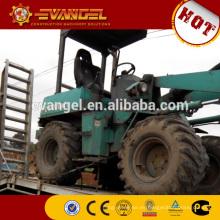 China mini cargador de ruedas DZM916 con 4 en 1 cubo