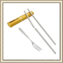 Conjunto de talheres de aço inoxidável (CL1Y-CS205) de dobramento