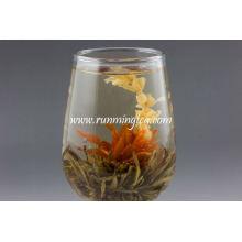 Orgânica florescendo chá